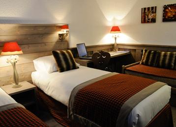 Chambre hotel arcadien