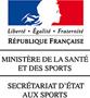 REGARDS_DU_SPORT_VANDYSTADT_LOGO_MINISTERE_SANTE_SPORT_SECRETARIAT_ETAT_AUX_SPORTS